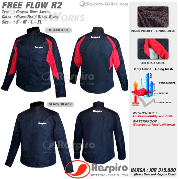jaket respiro free flow