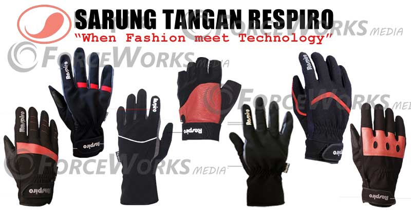 sarung tangan touring anti air dan sylish