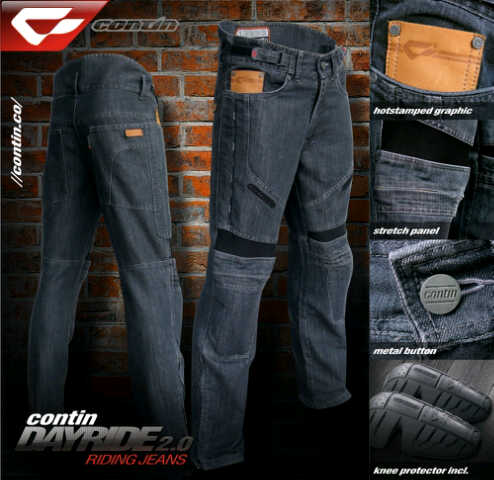 celana touring contin jeans