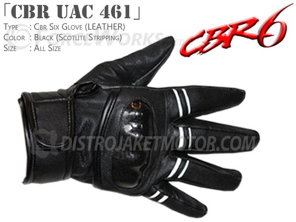 sarung tangan motor kulit cbr uac 461