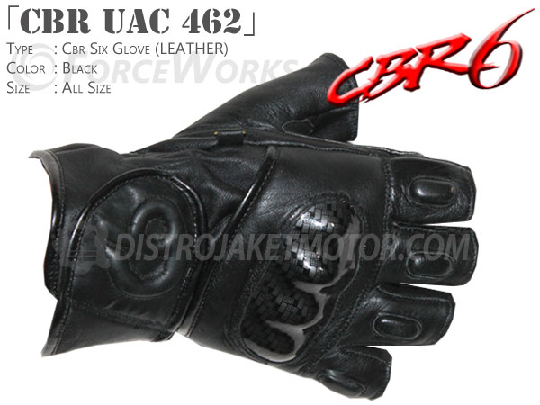 sarung tangan motor kulit cbr uac 462