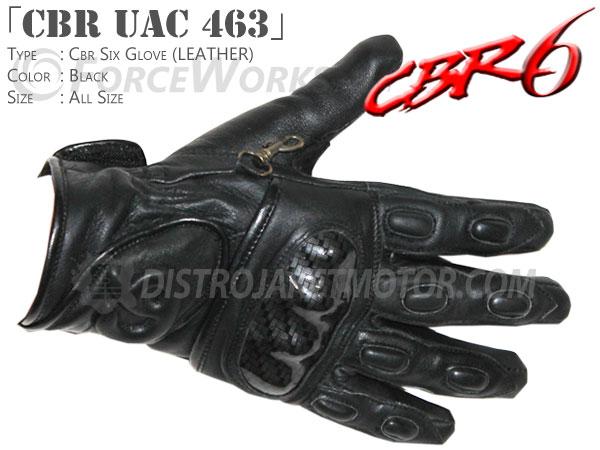 sarung tangan motor kulit cbr uac 463