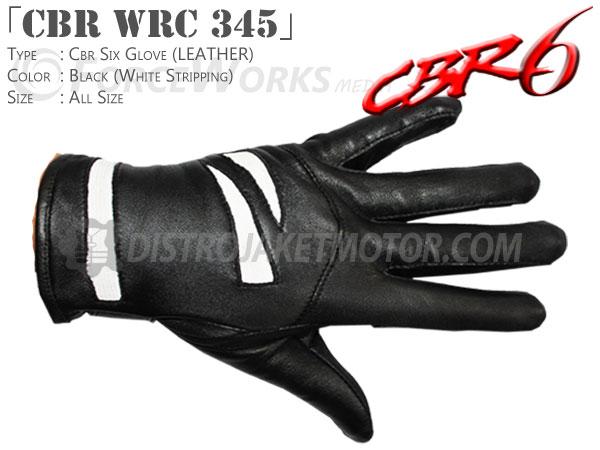 sarung tangan motor kulit cbr wrc 345