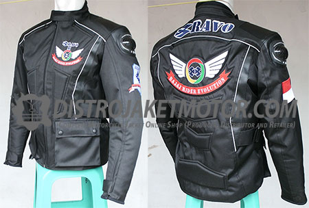 jaket motor geoforce custom bravo