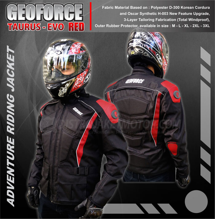jaket motor geoforce