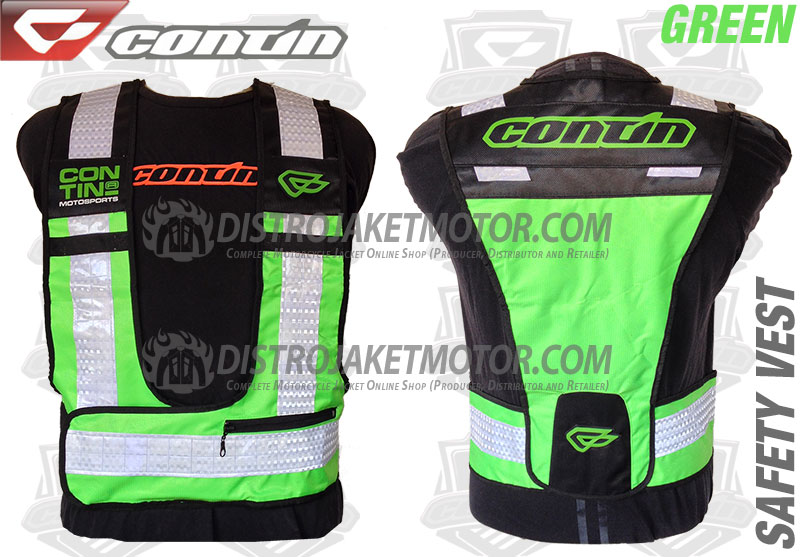 Contin-Safety-Vest-Green