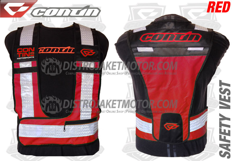 Contin-Safety-Vest-Red