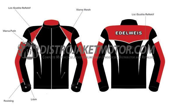 Design-Jaket-Motor-Taslan-EDELWEISS-CRB