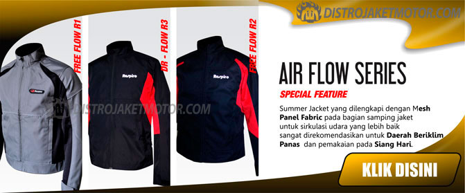 jaket respiro air flow series