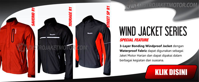 jaket respiro wind jacket