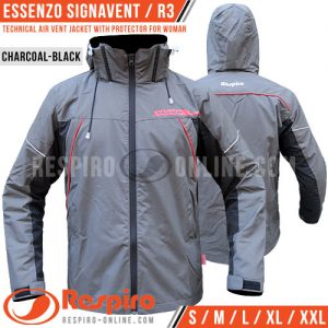 Jaket-Respiro-ESSENZO-SIGNAVENT-Charcoal-Black