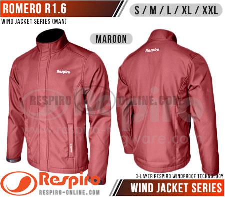 Jaket-Respiro-ROMERO-R1-Maroon