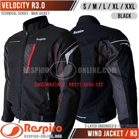 Jaket-Respiro-VELOCITY-R3-Black