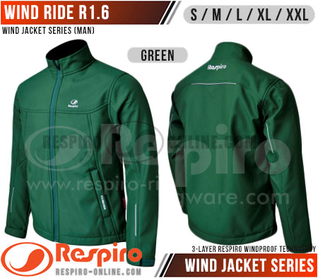 Jaket-Respiro-WIND-RIDE-R1.6-Green