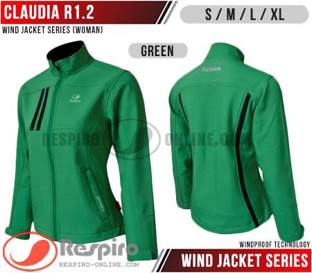 Jaket-Wanita-Respiro-CLAUDIA-R1.2-Green