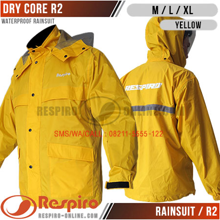 Rainsuit-R2-DRY-CORE-Yellow