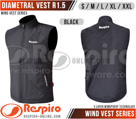 Rompi-Respiro-DIAMETRAL-VEST-R1.5-Black